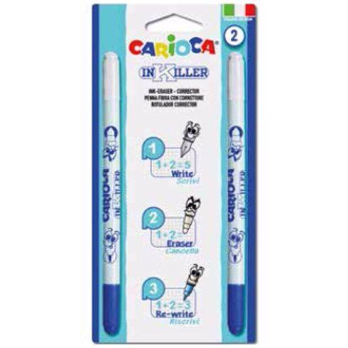 Írószerek - InKiller radírozható toll szett 2 db-os Carioca