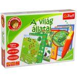 Társasjátékok -  Kis felfedező Az állatok világa oktató fejlesztő játék varázstollal