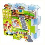 Baby kirakók - Puzzle - Városi móka szivacs puzzle Trefl