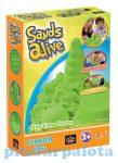 Gyurmák - Homokgyurma zöld színű kezdő készlet Sands Alive