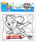 Mancs őrjáratos játékok  - Skye kifestő puzzle