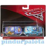 Játék autók - Autós játékok - Verdák 3 Bobby Swift és Cal Weathers kisautó szett 1/55 Mattel