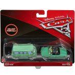 Játék autók - Autós játékok - Verdák 3 Dusty Rust-Eze és Rusty Dust-Eze kisautó szett 1/55 Mattel
