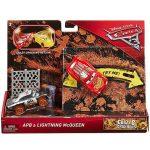 Játék autók - Autós játékok - Verdák 3 Crazy 8 Villám McQueen és APB kisautó szett Mattel