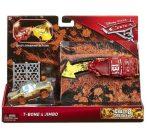 Játék autók - Autós játékok - Verdák 3 Crazy 8 T-Bone és Jimbo kisautó szett Mattel