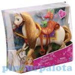 Pónis játékok - Disney Hercegnők Aranyhaj lova Maximus