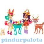 Műanyag babák - Varázslat a palotakertben játékszett - Mattel Enchantimals