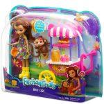 Műanyag babák - Enchantimals Gyümölcsös kocsi játékszett - Mattel