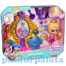 Lányos játékok - Shimmer és Shine Tükörszoba játék szett Mattel