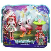Műanyag babák - Enchantimals Flamingó móka játék szett