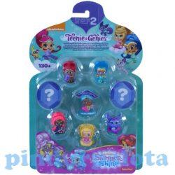 Mese figurák - Mese szereplők - Shimmer és Shine 8db-os minifigura szett Shimmer és Shine barátai