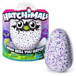 Interaktív játékok gyerekeknek - Hatchimals Draguella interaktív plüss lila tojásban
