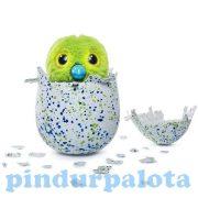 Interaktív játékok gyerekeknek - Hatchimals Penguella interaktív plüss zöldes tojásban