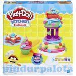Gyurmák - Play Doh Cukrász szett 5 db gyurmával