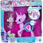 Pónis játékok - Én kicsi pónim Twilight Sparkle és Spike duettje énekes figuraszett Hasbro