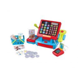 Szerepjátékok-foglalkozások - Érintőgombos pénztárgép kódleolvasóval Playgo