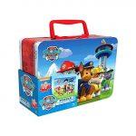 Mancs őrjáratos játékok - 24 db-os puzzle, fém bőröndben