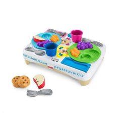 Fejlesztő játékok - Bébi játékok - Illemtudó uzsitálca Fisher-Price