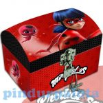 Lányos játékok - Miraculous Katicabogár és Fekete Macska ékszeres ládika