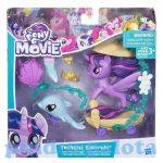 Pónis játékok - Én kicsi pónim Twilight Sparkle sellőpóni és kagylókocsija Hasbro