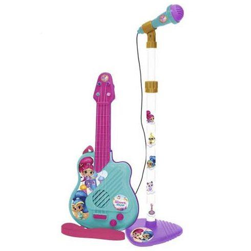 Játék hangszerek - Gitár mikrofonnal Shimmer és Shine