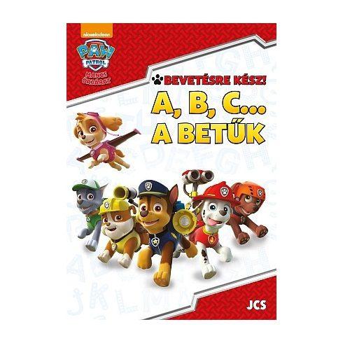 Foglalkoztató könyvek, füzetek - Mancs Őrjárat - ABC... A betűk foglalkoztató füzet