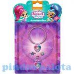 Lányos játékok - Shimmer és Shine, Ékszer szett 5 részes