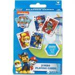 Mancs őrjáratos játékok -  Jumbo, óriás kártyajáték