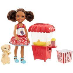 Barbie babák - Chelsea mini popcorn játékszett