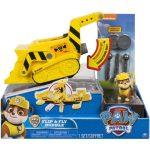 Mancs őrjáratos játékok - Átalakítható és repülő jármű Rubble figurával