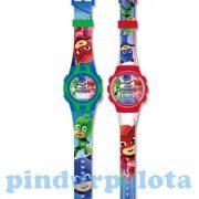 Ajándékok divatos termékek gyerekeknek - Gyerek karórák - Pizsihősök digitális karóra két változatba