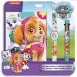 Mancs őrjáratos játékok - Mancs őrjárat Skye napló, karóra és 6 színű toll