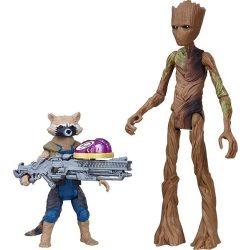 Figurák - Szuperhősök - Bosszúállók: Mordály és Groot a galaxis őrzői figurák