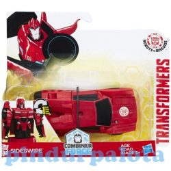 Transformers - Robots Sideswipe egy lépéses robotfigura - Hasbro