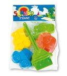 Kerti játékok - Homokozó készletek - Homokozóforma szett 6db-os