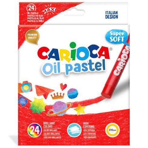 Kréták - Festékek - Carioca: Maxi olajpasztell kréta szett 24 db-os