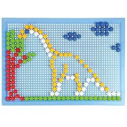 Motorikus készségfejlesztő játékok - LENA Mozaik Fiús Pötyi kreatív szett