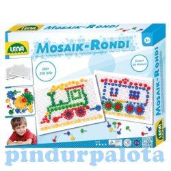 Motorikus készségfejlesztő játékok - LENA Mozaik pötyi és Rondi építő szett