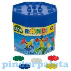 Építőjátékok gyerekeknek - LENA Rondi építő szett 25mm-es