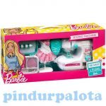 Lányos játékok - Barbie varrógép szett kiegészítőkkel