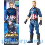 Figurák - Szuperhősök - Avengers: Amerika Kapitány Titan Hero 30cm