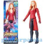 Figurák - Szuperhősök - Avengers: Scarlet Witch Wanda Titan Hero figura 30cm