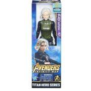 Figurák - Szuperhősök - Avengers: Black Widow Fekete özvegy Titan Hero figura 30cm