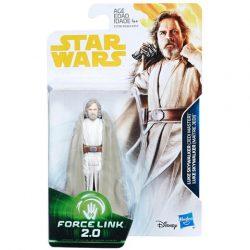 Figurák - Szuperhősök - Star Wars Luke Skywalker Jedi Master Force Link 2.0 figura - Hasbro