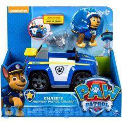 Mancs őrjártos játékok - Mancs őrjárat: Chase és bevetési kocsija játékfigura - Spin Master