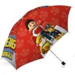 Mancs őrjáratos játékok - Mancs őrjárat összecsukható piros esernyő, 45cm
