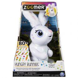 Interaktív játékok gyerekeknek - Zoomer Éhes Nyuszi interaktív figura