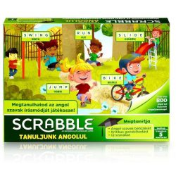 Scrabble Tanuljunk Angolul! társasjáték Mattel