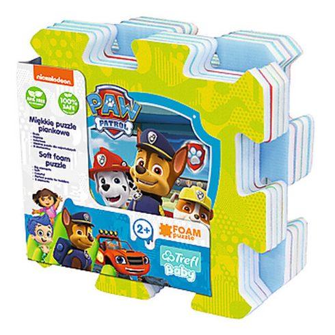 Puzzle vásárlás online - Puzzle babáknak - Nickelodeon mesék szivacs puzzle játék - Trefl