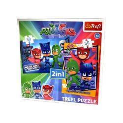 Pizsihősök Puzzle 2 in 1 Trefl